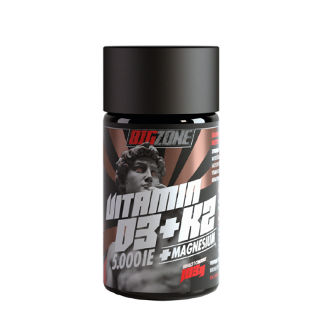 Big Zone Vitamin D3 + K2 + Magnesium - Big Zone