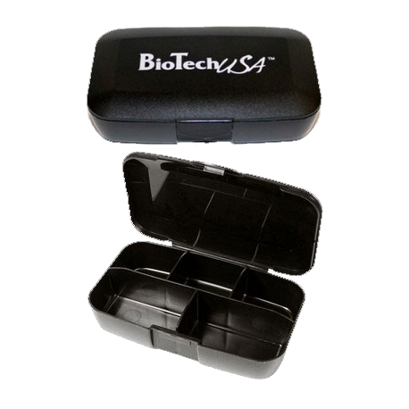 Pill Box black - Biotech USA