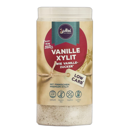 Vanille Xylit 125g Soulfood