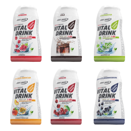 Vital Drink 6x48ml - Best Body Nutrition