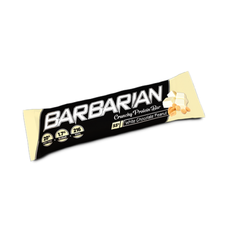 Barbarian Crunchy Protein Bar 15x55g - Stacker 2