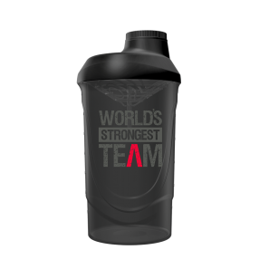 World´s Strongest Team Shaker Black - 600ml - Gods Rage
