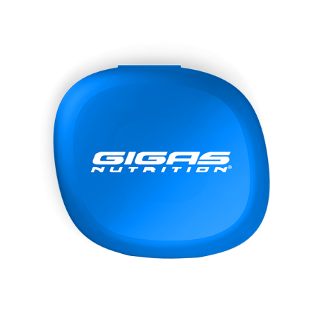 Pill Box Blue - Gigas Nutrition