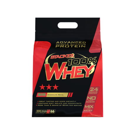 100% Whey Stacker 2