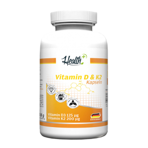 Vitamin D3 & K2 Health+ - Zec+