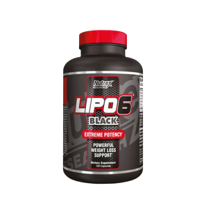 Lipo 6 Black 120 Caps - Nutrex Resarch
