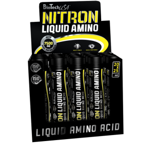 Nitron Liquid Amino 20 x 25ml - Biotech USA