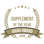 Gigas Supplements Awards 2009