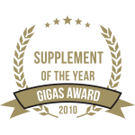 Gigas Supplements Awards 2010