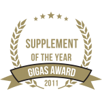 Gigas Supplements Awards 2011