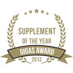 Gigas Supplements Awards 2012