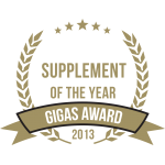 Gigas Supplements Awards 2013